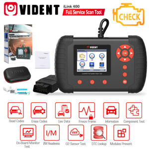 Obd2 Full System Diagnostic Scanner Tool For Abs srs epb dpf Vident Ilink400