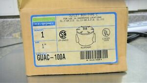 Oz Gedney Guac 100a 1 aluminum Explosion Proof Outlet Box