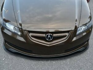 Acura Tl Front Splitter artwork Bodyshop Matte Black Normal Splitter f