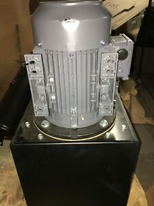 Monarch T56c405r02s0 01 Hydraulic Power Unit 5 Hp 36nd81