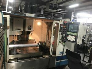 Fadal Vmc 4020ht 2001 4th Axis Rotary Table 10k Rpm Video Under Power