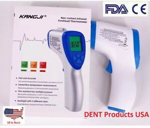 Thermometer Gun Non contact Temperature Measure Digital Infrared Forehead Body