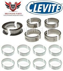 Ford 221 255 260 289 302 5 0 Clevite Rod And Main Bearings Set 1962 2001