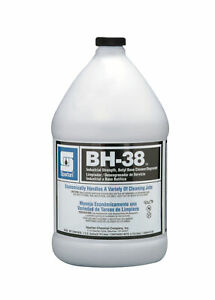Case Of 4 Gallons Spartan Bh 38pf Multi purpose Detergent