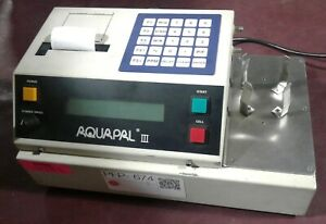 Csc Scientific Aquapal Iii Ver 4 1 Coulometric Titrator Moisture Analyzer