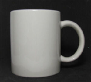 Lot Of 36 Coffee Mugs 8 Oz White Rolled Edge Silkscreen Able Coffee Tea Mug Cup