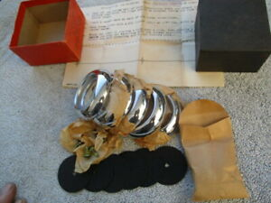 1948 1954 Hood And Fender Trim Rings Buick And Other Cars