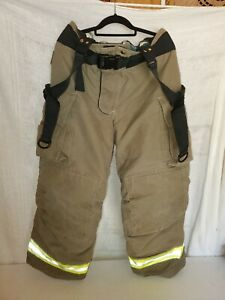 Tan Globe Gxtreme Trousers Liner Aralite Np 40 X 30 Firefighter Fire Rescue Usa