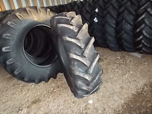 Two New 14 9 28 R1 8 Ply Tractor Tires