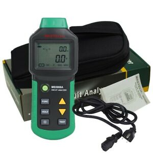 Mastech Ms5908 Rms Circuit Analyzer Tester Compared W Ideal Sure Test Socket