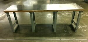 Industrial Heavy Duty Stainless Steel Top Work Table 96 l X 31 w X 34 1 2 h