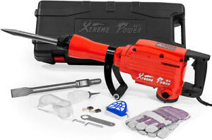 Xtremepowerus 2200watt Heavy Duty Electric Demolition Jack Hammer Concrete W