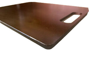 1 4 Seasoned Pizza Steel Plate 1 4 X 16 X 18 A36 Steel With Handle