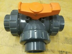 Tpbv32 Pvc Sch80 Tu 3 way Ball Valve 2 Fip