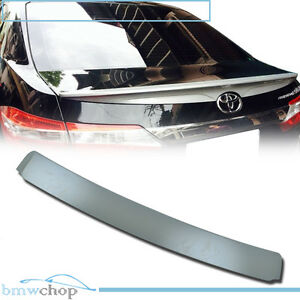 Unpainted For Toyota Corolla Altis Rear Window Roof Spoiler New 2014 2018