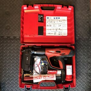 Hilti Dx 460 mx 72 Powder Actuated Tool Kit In Hilti Plastic Case Brand New