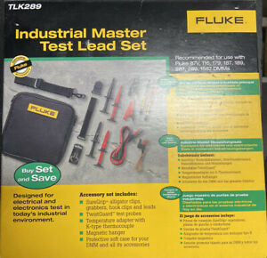 Fluke Industrial Lead Set Tlk289