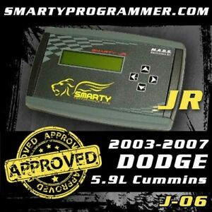 Smarty Junior Tuner Sj 06 For 2003 2007 Dodge Ram 2500 3500 Cummins 5 9l
