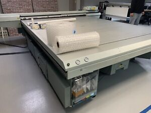 Oce Arizona 550 Xt Wio Wide Format Uv Flatbed Printer