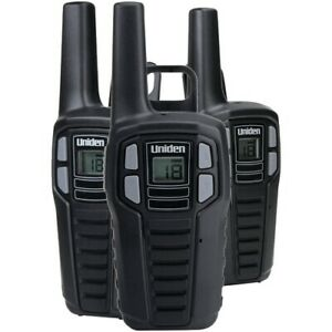 Uniden 16 mile 2 way Frs And Gmrs Radios 3 Pk With 9 Batteries