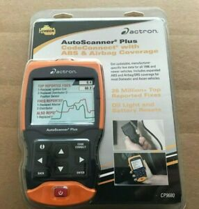 Actron Cp9680 Autoscanner Plus Obd Ii Scan Tool Codeconnect With Abs