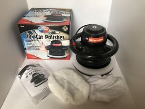 All Power 10 Random Orbital Power Polisher Buffer Apt2100 With 2 Bonnets
