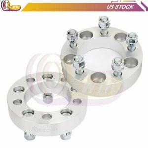 2x 5 Lugs Wheel Spacers 5x4 5 1 2 Studs 1 25 87 1mm Adapters For Jeep Liberty