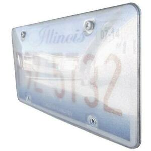 Race Sport Reflector License Plate Cover Rs Pb Plate 1