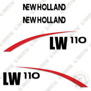 New Holland Lw110 Decal Kit Wheel Loader Equipment Decals lw 110