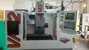 Haas Vf 2 Vmc 1996 4th Axis Wiring Programmable Coolant 6 000 Cutting Hours