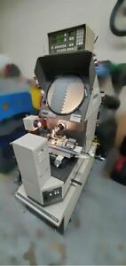 Mitutoyo Ph 350 14 Optical Comparator With Mitutoyo Accessories