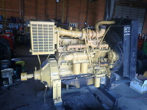 Allis Chalmers 670t Power Unit Video Turbo Diesel Engine 670 With Clutch