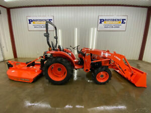 2018 Kubota L2501hst Tractor With An La 525 Loader 4x4