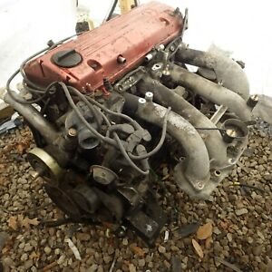Mercedes Benz 190e Long Block Engine Assembly 62k Miles Run Tested 84 87 W201