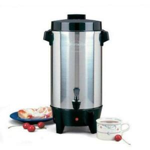 West Bend 58002 12 42 Cup Automatic Party Perk Coffee Urn