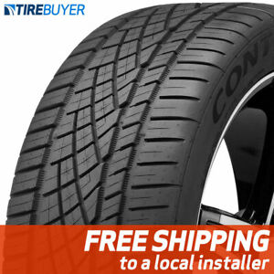 4 New 245 40zr17 91w Continental Extremecontact Dws06 245 40 17 Tires