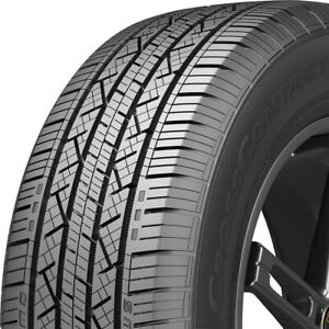 4 New 225 55r17 Continental Cross Contact Lx25 225 55 17 Tires