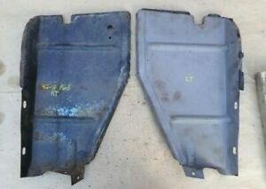 1946 1947 1948 Ford Radiator Air Deflector Side Panels Original Pair 1942