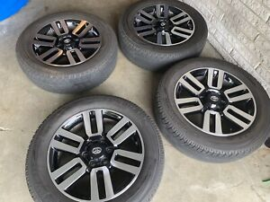 20 Limited Style Alloy Wheels Fits Toyota 4runner Tacoma 2010 19 With Tires