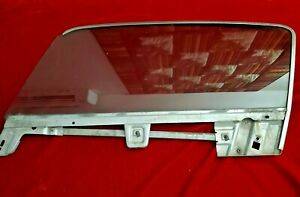 Mustang Fastback Door Window 1967 1968 Sun x Tinted Lh Drivers Side Oem Ford