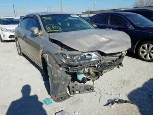 2013 2014 Honda Accord Left Front Driver Seat Tan Leather Electric Sedan 1086958