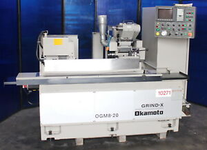8 6 X 19 84 Okamoto Cnc Universal Cylindrical Grinder With I d Spindle 2003
