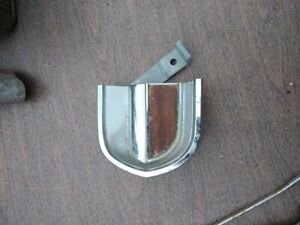 1965 Mercury Comet Right Dash End Trim Plate