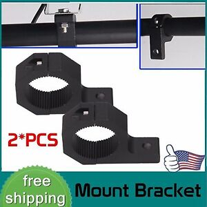 2x 1inch 2inch Off Road Bull Mount Bracket Tube Clamps For Hid Led Light Bar