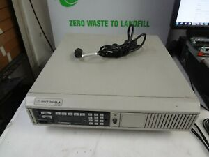 Motorola Astro Xtl5000 L20urs9pw1a Digital Dispatch Base Station W power Cable