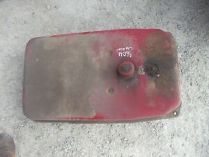 Farmall Ih 460 Utility Tractor Gas Fuel Tank Cap Light Rust Still Useable