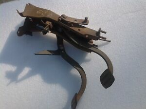1959 1960 Chevy Impala Belair Clutch Brake Pedal Assembly Back Up Switch Oem