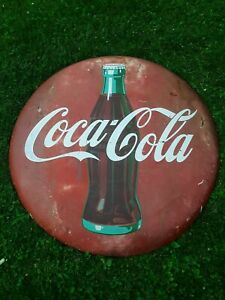 Coca Cola Button 48, Coca Cola Sign, Coke Button