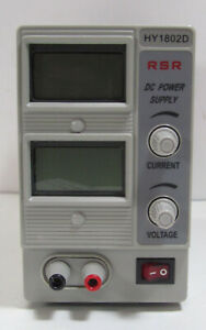 Rsr Hy1802d Dc Benchtop Regulated Variable Power Supply 0 18v 0 2a