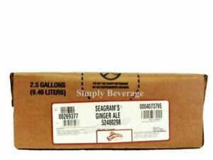 Seagrams Ginger Ale Soda Syrup Concentrate 2 5 Gallon Bag In Box